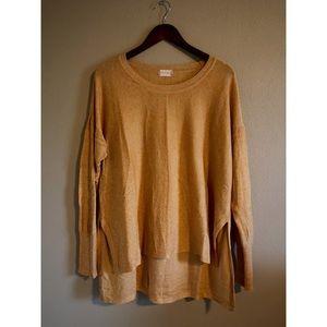 Mustard Tunic Sweater